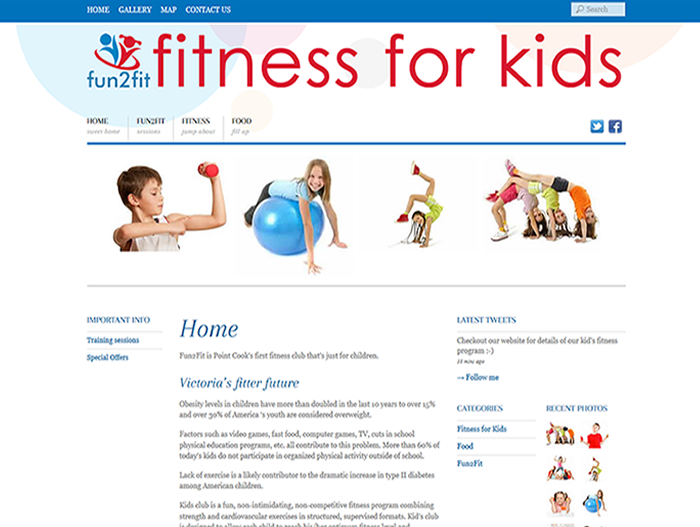 fun2fit website