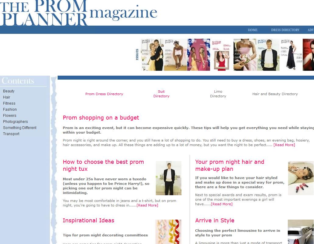 prom website